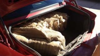 (Source: Pinal County Sheriff's Office) Marijuana weighing 270 pounds was discovered in the vehicle.