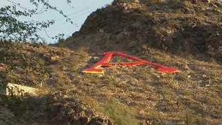 """A"" Mountain in Tempe"