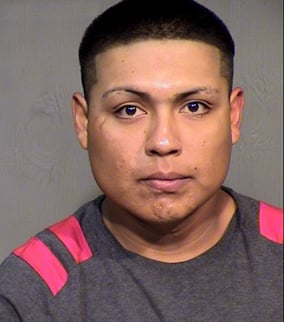 Old booking photo of Christian Barron from a June drug arrest.