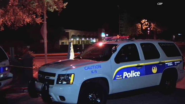 (Source: CBS 5 News) A woman in an Ahwatukee Foothills apartment complex was found tied up after an apparent home invasion.