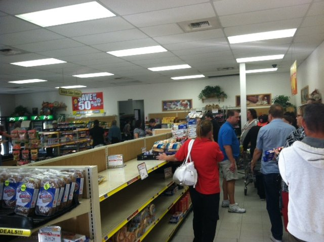 Customer streamed into the Wonder Hostess Bakery Outlet in Phoenix Friday afternoon after they heard about the company's demise.