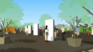 (Source: City of Phoenix) Artist rendering of how the space will look.