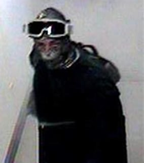 The FBI says the bandit is behind at least seven bank robberies in the Phoenix area since March, 2009. (Source: FBI)