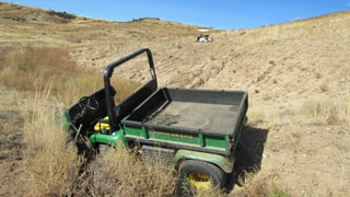 (Source: Yavapai County Sheriff's Office) Besides golf carts, maintenance carts were also stolen.
