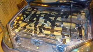(Source: Customs and Border Protection) CBP officers seize $131,000 worth of marijuana.