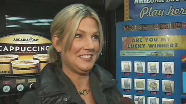 (Source: CBS 5 News) Karen Bach with the Arizona Lottery correctly predicted the Powerball jackpot would increase Wednesday. It increased by $50 million to a total $550 million for the night's drawing.