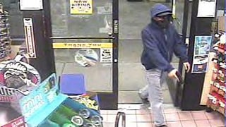 (Source: Glendale Police Department) The bandit is targeting Valero and 7-Eleven stores.