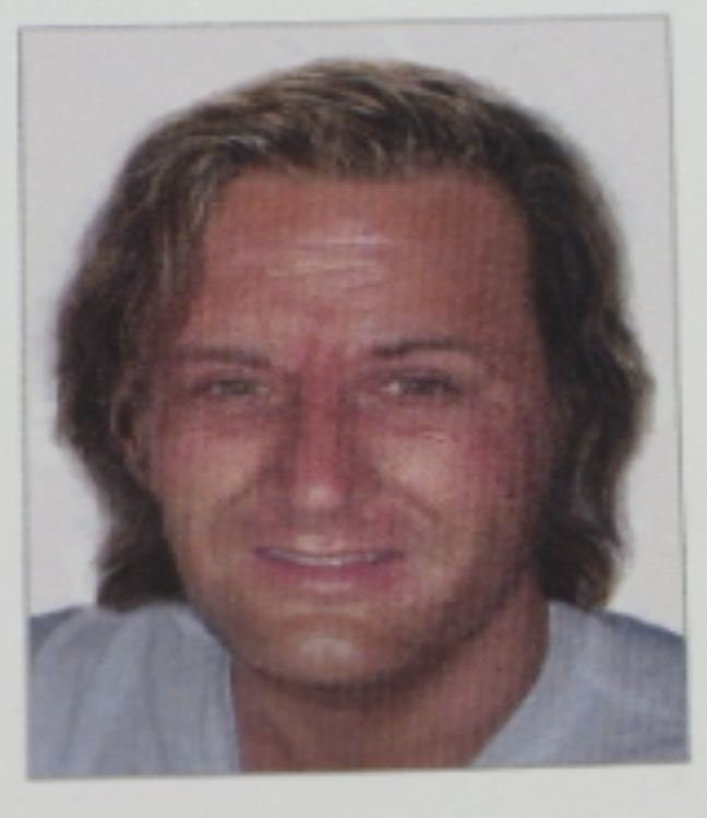Age -Enhanced photo of Brown. This is what the FBI says he may currently look like.