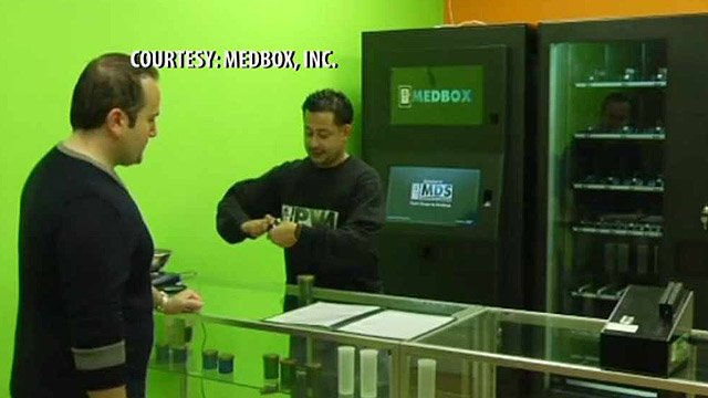 (Source: Medbox) Medical marijuana patients may soon be available to get their product from a technology similar to vending machines.