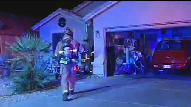 (Source: CBS 5 News) A Peoria woman is safe this morning after an overnight fire in her home.