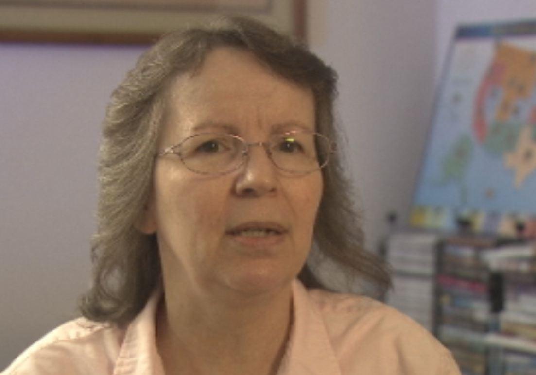 Ellen Christensen, the fecal transplant recipient.