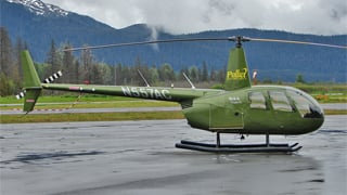 (Source: Terry Fletcher) The helicopter was similar to this one.