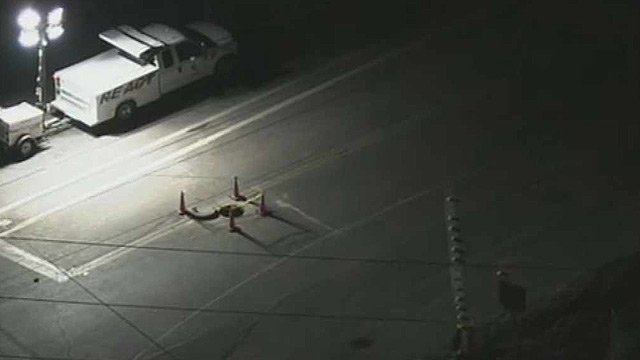 (Source: CBS 5 News) Workers cleaning the drain called deputies to report finding what they believed to be a body at the bottom of the drain.