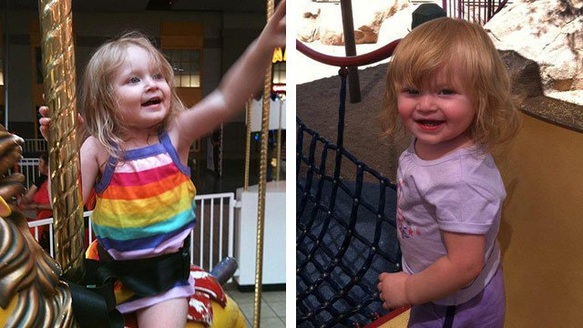 Savannah Cross died Dec. 11, 2012 while in the care of Allison Ann Clement and Ryan Alan Reed at a Phoenix daycare facility. (Source: Facebook)