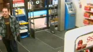 Would-be robber caught on surveillance camera
