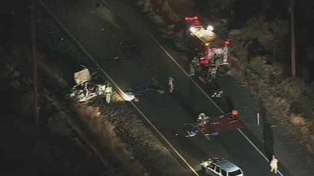  (Source: CBS 5 News) A collision involving a car and a tractor-trailer closed State Route 238 in southern Arizona Thursday morning.