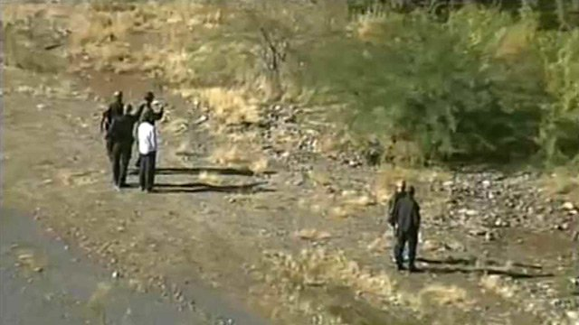 (Source: CBS 5 News) Searchers found a body in the Salt River believed to be that of a missing 19-year-old student Sunday morning.