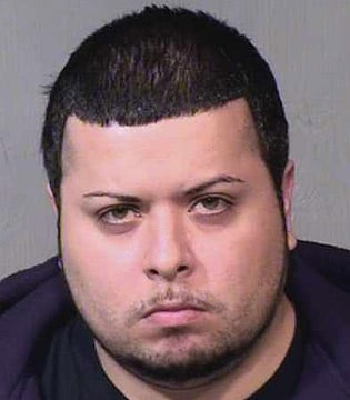 (Source: Maricopa County Sheriff's Office) David Salinas-Lama is accused of violently abusing his 6-month-old daughter.