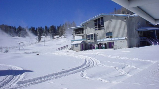 (Source: Sunrise Park Resort) Sunrise Park Resort watched 10 new inches of snow fall over the last 24 hours.