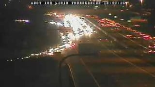 Crash closes northbound 101 at Thunderbird Road.