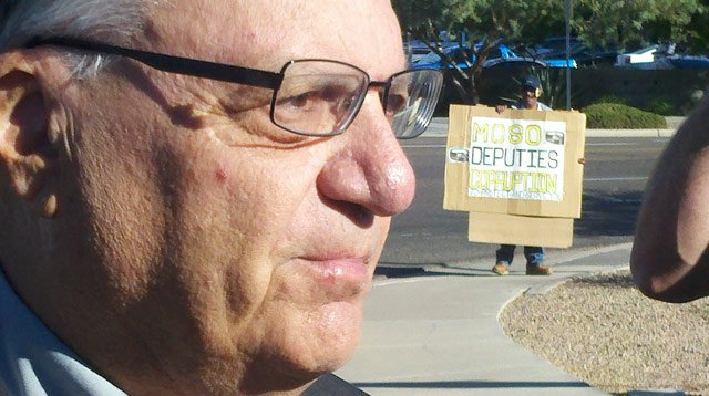 (Source: Todd Jackson / CBS 5 News) Sheriff Joe Arpaio's office is accused of profiling Latinos in its immigration patrols and retaliating against critics.