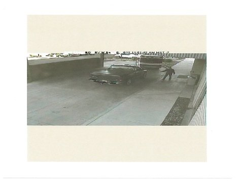 Surveillance photo of the vehicle at the hospital (Source: Phoenix Police Department)