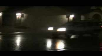 Matt Hamada, cbs5az.com, captures the wet pavements in Gilbert Sunday night.