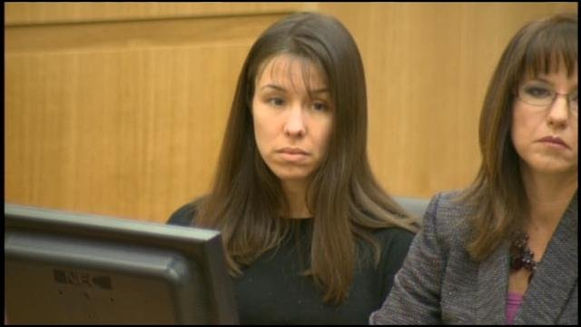 (Source: CBS 5 News) Jodi Arias in court on Wednesday, January, 2, 2013