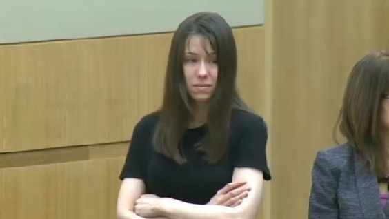 Jodi Arias got emotional in court on Wednesday during the first day of her trial in the death of Travis Alexander.