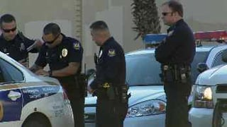 (Source: CBS 5 News) Two suspects were arrested and police are searching for one more.