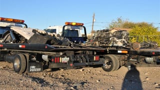 © Suspected chop shop (Source: El Mirage Police Department)