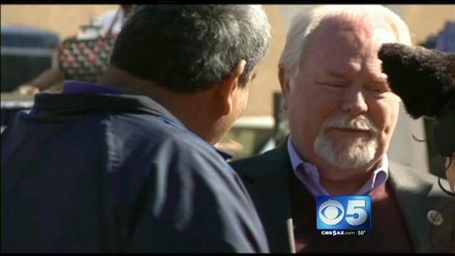 U.S. Rep. Ron Barber at commemoration event.