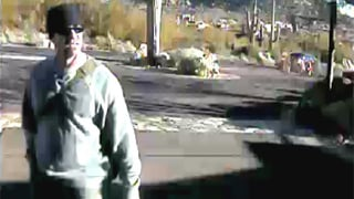 Surveillance camera captures suspect believed involved