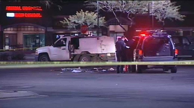 (Source: CBS 5 News) A Maricopa County sheriff's deputy was seriously wounded early Tuesday morning after a shooting with a motorist in Peoria.