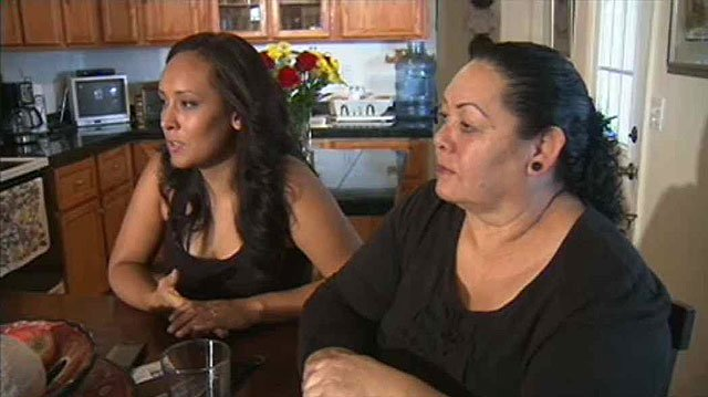 (Source: CBS 5 News) Erika Andiola, left, and her mother, Maria Arreola during an interview in September with CBS 5 News.