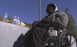 Good Samaritan gave a Phoenix homeless man some blankets.