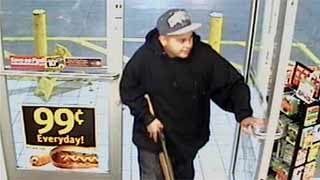 One of the suspects in the Circle K holdups. (Source: Silent Witness)
