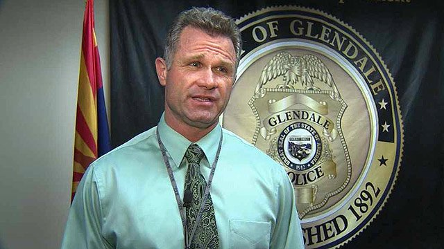 (Source: CBS 5 News) Glendale Sgt. Brent Coombs said AOL contacted Glendale police Jan. 9 with information that a computer from retired Phoenix Police Sgt. Don Casey Jr.'s home had accessed child pornographic images.