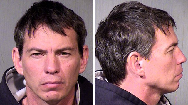 (Source: Maricopa County Sheriff's Office) Richard Cory Barker is suspected of stealing at least four vehicles from December 2012 until his arrest Monday.