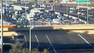 Southbound drivers caught in I-17 and Loop 101 delays.