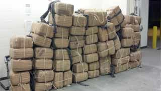 Drug smuggling attempt foiled (Source: Customs and Border Protection)