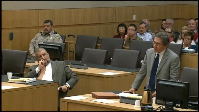 Jodi Arias' murder trial on Wednesday.