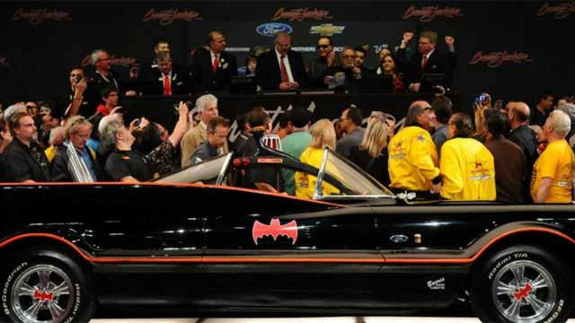 A Phoenix-area resident is the new owner of the famous Batmobile.