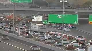 Rollover crash at Loop 101 and US 60