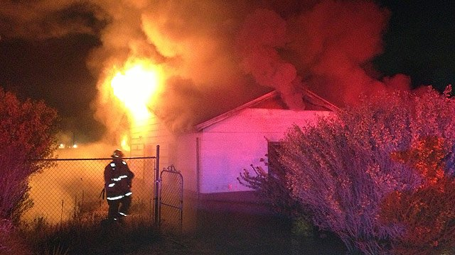 (Source: Phoenix Fire Department) No one lived in the house at 28 E. Southgate Ave., which was almost fully involved when crews arrived about 10:50 p.m.