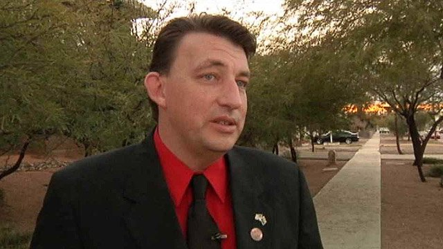 (Source: CBS 5 News) State Rep. Carl Seel is co-sponsor of a bill that would require hospitals to ask for proof of legal status if they can't pay their bills, unless they are from Canada.