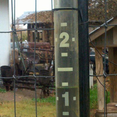 CBS 5 viewer Micky Ekren shows us how much rain she got in Gilbert.