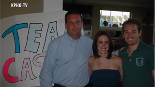 Casey Anthony with legal team, August 2012