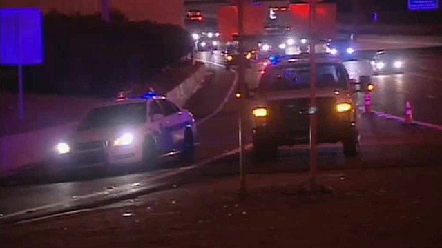 The driver of a motorcycle died after crashing on an Interstate 17 on-ramp at The Stack in Phoenix early Monday morning.