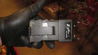 Photo of the stun gun the clerk used to subdue the suspect.  (Source: Pinal County Sheriff's Office)
